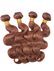7A Peruvian Virgin Hair Body Wave Peruvian Body Wave 4Bundles Unprocessed #30 Human Hair Body Wave