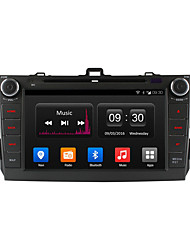 "ownice 8 ""hd 1024 * 600 quad core android dvd player 4.4 carro para toyota corolla rádio 2006-2011 gps"