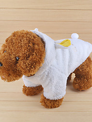 Cat / Dog Costume / Hoodie White Winter / Spring/Fall Animal Cosplay, Dog Clothes / Dog Clothing