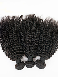 "3pcs 8""-30"" Brazilian Kinky Curly Virgin Hair Brazilian Curly Virgin Hair Human Hair Extensions Weave Bundles"