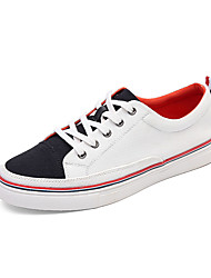 Men's Shoes Fashion Sneakers Canvas Leather Shoes