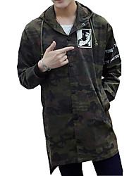 DMI™ Men's Hoodie Camouflage Casual Denim Jacket