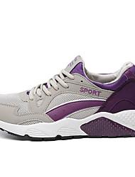 Da donna-Sneakers-Casual / Sportivo-Ballerine-Piatto-Tessuto-Blu / Viola