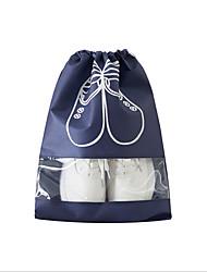 não-tecido organizador de sapato saco de sapatos de viagem saco transparente sapatos de saída cadeia saco bolsa de pó