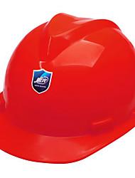 capacete de segurança de plástico comum