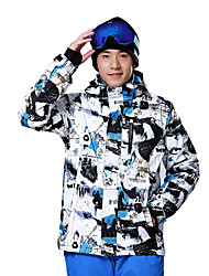Outdoor Ski Suit Jacket Windproof Waterproof Breathable Warmth