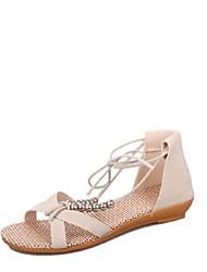 Women's Sandals Spring / Summer / Fall Sandals Cotton / Fabric Outdoor / Office & Career / Dress
