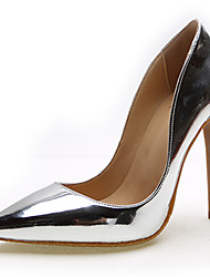 Women's Shoes Leather Stiletto Heel Heels / Pointed Toe Heels Office & Career / Party & Evening