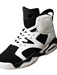 Da uomo-Sneakers-Casual-Ballerine-Piatto-Nappa-Nero / Rosso / Nero e oro / Nero e rosso