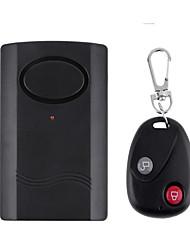 controle remoto sem fio do alarme de vibração de segurança em casa porta janela do carro motocicleta alarme de segurança anti-roubo