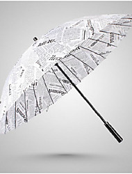 White Folding Umbrella Sunny and Rainy Textile Travel / Lady / Men