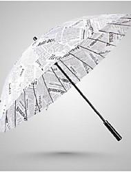 Blanco Paraguas de Doblar Soleado y lluvioso textil Viaje / Lady / Hombre