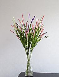 1 1 Une succursale Mousse de polystyrène Lavande Fleur de Table Fleurs artificielles 28.7inch/73cm