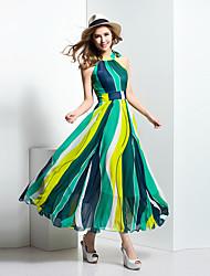 BORME® Femme Licou Sans Manches Maxi Robes-Z129