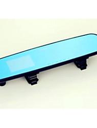 2.8 Inch Rearview Mirror Tachograph Blue Screen HD Wide-Angle Anti Glare Vehicle