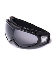 Ski Outdoor Riding Motorcycle Black-Rimmed Black And Gray Goggles