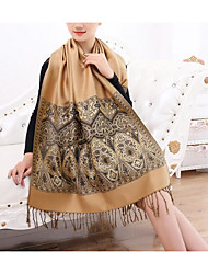 Women Cotton Scarf,Fashionable JewelryPrint