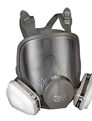 3M 6800 with 6001 Cartridges with Comprehensive Anti-Chemical Paint Dust Protective Gas Mask Respirators