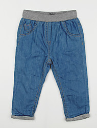 Boy's Casual/Daily Solid Jeans,Cotton Fall Blue