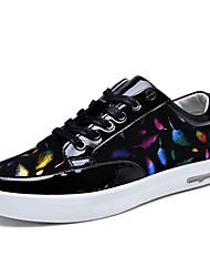 New Korean Style Men's Bling Bling And Breathable Skateboarding Shoes for Hip-hop/Walking/Sports