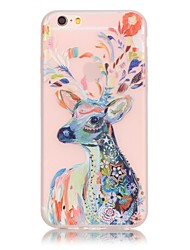 Para iPhone X iPhone 8 iPhone 6 iPhone 6 Plus Case Tampa Brilha no Escuro Capa Traseira Capinha Azulejo Macia PUT para Apple iPhone X