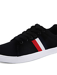 Men's Breathable Light Weight Linen Skateboarding Shoes in Casual Style Men's Fashion Flats for Sports