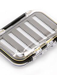 Anmuka Коробки для рыболовных снастей Коробка для рыболовной снасти Водонепроницаемый / Многофункциональный 2 Поддоны 3.5*6.5*10.5 Пластик