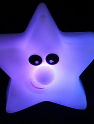 пятиконечная звезда красочные градиенты ночник