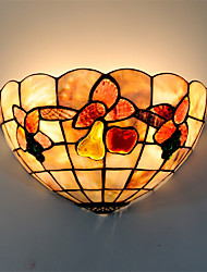 12 inch Retro Tiffany Wall Lights Shell Shade Living Room Bedroom Kids Room light Fixture