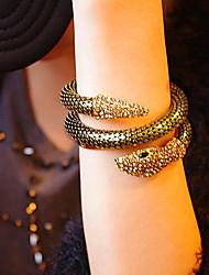 Snake Shape Animal Bangle Bracelet for Women