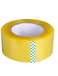 Two Of A Pack Large Transparent Plastic Bandwidth Of 5.5 * 2.5Cm150M Long Express Packaged Sealing Tape