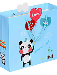 Cartoon Balloon Gift Bags Children'S Day Gift Bag Bag Paper Bags Bags A Pack Of Five