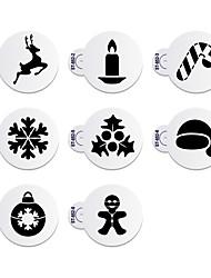 8 Backen Neuankömmling / Kuchen dekorieren / Gute Qualität / umweltfreundlich Kuchen / Plätzchen Kunststoff Backformen