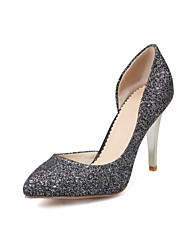 Women's Shoes Microfibre Spring / Summer / Fall Heels Heels Wedding / Office & Career / Party & Evening / Dress