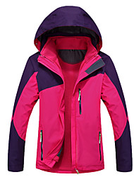 Ski Wear Ski/Snowboard Jackets Women's Winter Wear Polyester Winter Clothing Thermal / Warm / Windproof / WearableCamping / Hiking /