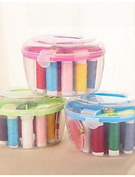 Wedding /Birthday Sewing Tools & Equip Sewing Box & Storage Plastic 1 Set