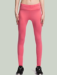 Yoga Pants Pants Breathable / Stretch Natural Stretchy Sports Wear Pink / Black / Blue Unisex Sports Yoga