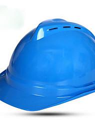 capacetes de aço de proteção de energia vermelho e azul amarelo brancos e novos materiais