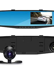 enregistreur de conduite avant et après la double lentille HD enregistreur nouveau haut de gamme de 4,3 pouces vue arrière de l'écran