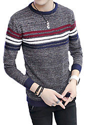 2016 new men's long sleeved sweater. Autumn and Winter Youth sweater shirt sleeve head men's slim tide