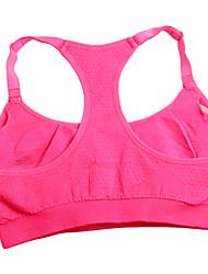Femme Sans manche Course / Running Soutien-Gorges de Sport Vêtements de Compression/Sous maillotRespirable Séchage rapide Compression