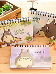 Meng Department Of Cute Totoro Coil Schedule The Program Notepad Notebook