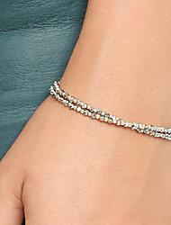 Bracelet Chaînes & Bracelets / Charmes pour Bracelets / Bracelets Rigides / Bracelets Wrap / Loom Bracelet Céramique / Tissu Forme Ronde