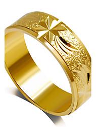 Alliances Mode Mariage / Soirée Bijoux Alliage Femme Bagues Affirmées 1pc,6 / 7 / 8 / 9 Doré