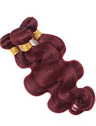1 Pièce Ondulation naturelle Tissages de cheveux humains Cheveux Malaisiens Tissages de cheveux humains Ondulation naturelle