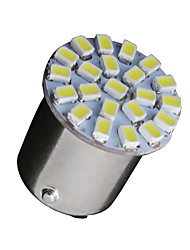10 x weiß 1156 BA15S 22-SMD LED-Lampen Blinker Backup P21W 382 7506