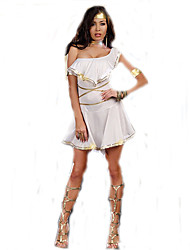 Greek Goddess Dress Women's Fancy Dress Greek Carnival Costume Dresses Elegant Women Party Dress