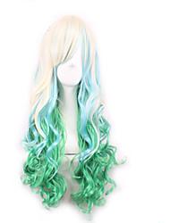 Perrruque de Déguisement Perruques pour femmes Vert Perruques de Costume Perruques de Cosplay