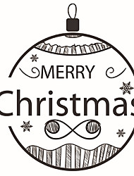 Wall Stickers Wall Decals Style Christmas Lantern PVC Wall Stickers