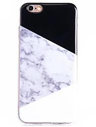 Per retro Other Marmo TPU Morbido Copertura di caso per Apple iPhone 6s Plus/6 Plus / iPhone 6s/6 / iPhone SE/5s/5